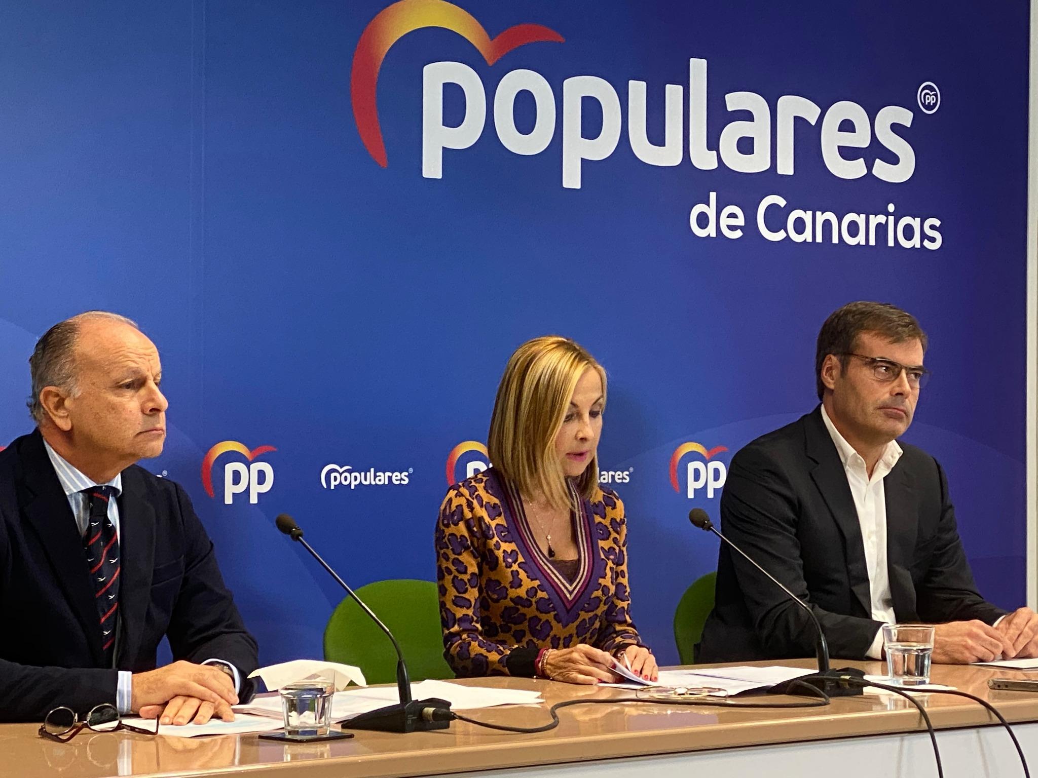 El PP presenta 219 enmiendas a las cuentas canarias para 2020